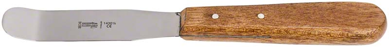 Alginatspatel  Stück  1430 1\2, Holzgriff