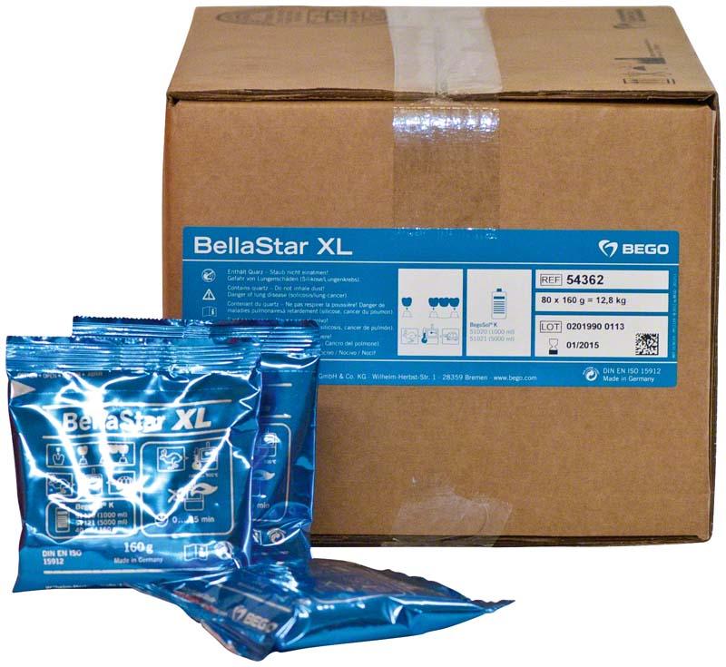 Bellastar XL  Karton  80 x 160 g Beutel ohne Liquid