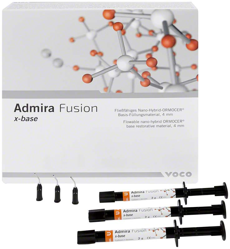 Admira® Fusion x-base  Packung  5 x 2 g Spritze universal