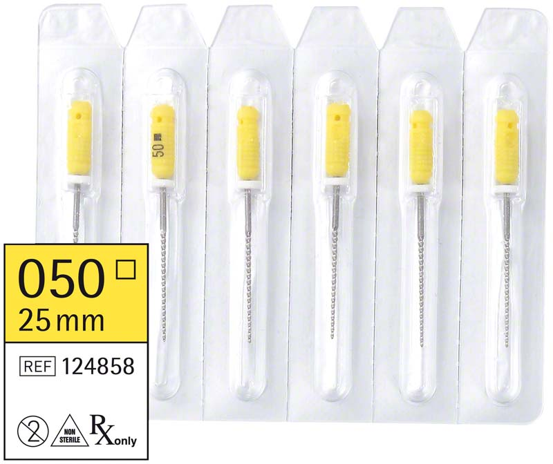 smart K-Feilen  Packung  6 Stück 25 mm ISO 050
