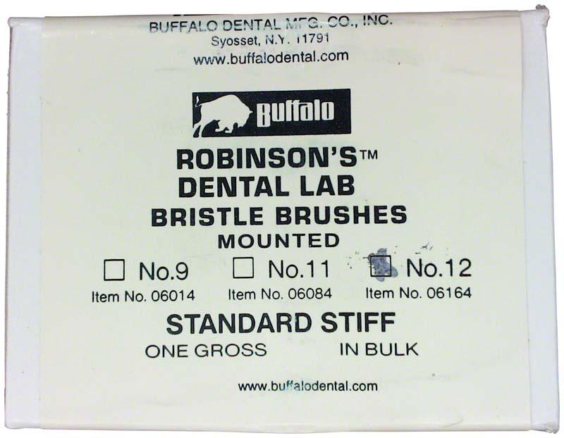 Abbott-Robinson-Bürsten  Packung  144 Stück Nr. 12, Standard