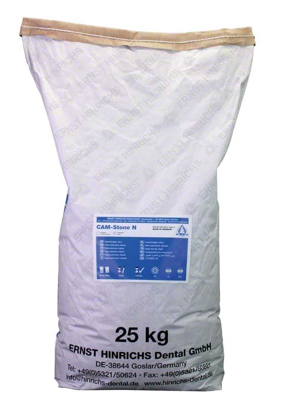 CAM-Stone N  Sack  25 kg Superhartgips elfenbein