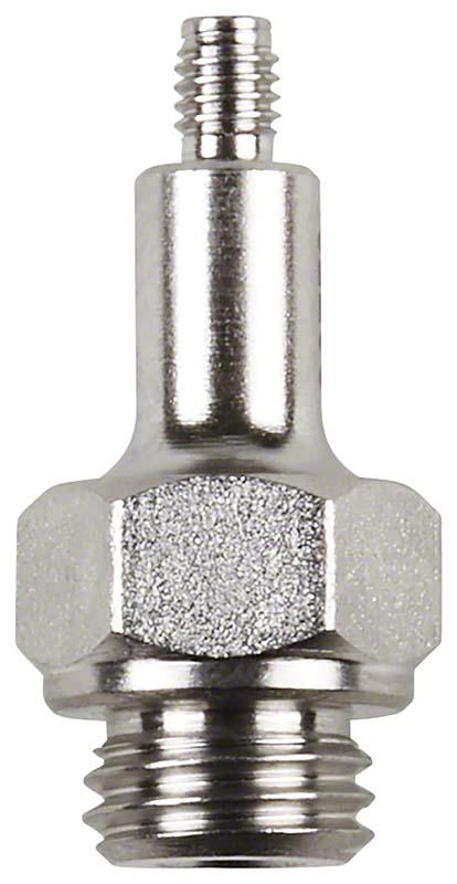 Adapter für Spitzen  Stück  M3 x 0,5 mm, Außengewinde