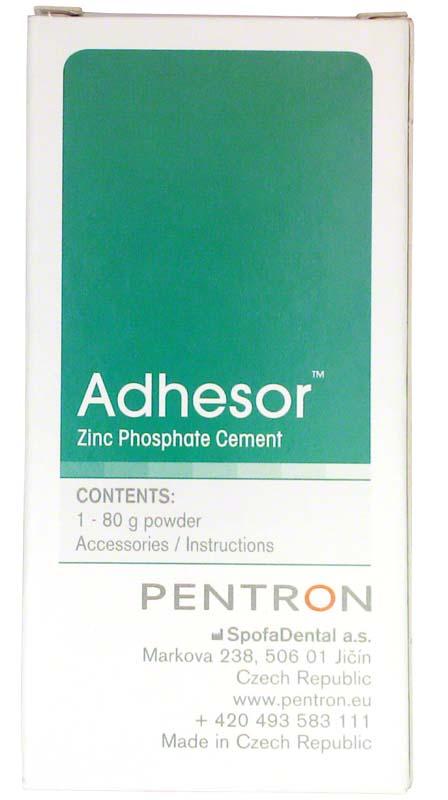 Adhesor  Packung  80 g Pulver shade 2, gelb