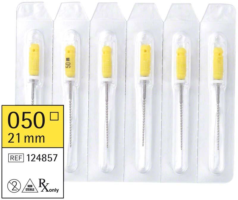 smart K-Feilen  Packung  6 Stück 21 mm ISO 050