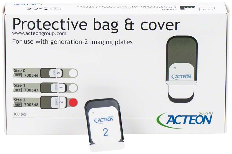 Biss-Schutzhüllen für PSPIX 2  Packung  300 Schutzhüllen Größe 2