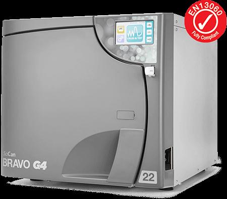 BRAVO G4 22 l Kammerautoklav Sterilisator Praxis
