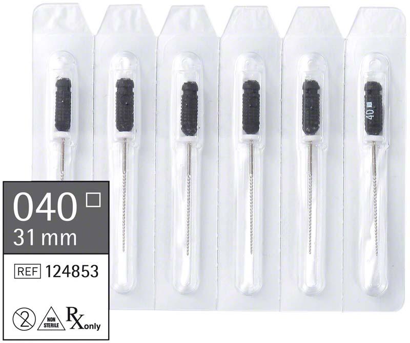 smart K-Feilen  Packung  6 Stück 31 mm ISO 040