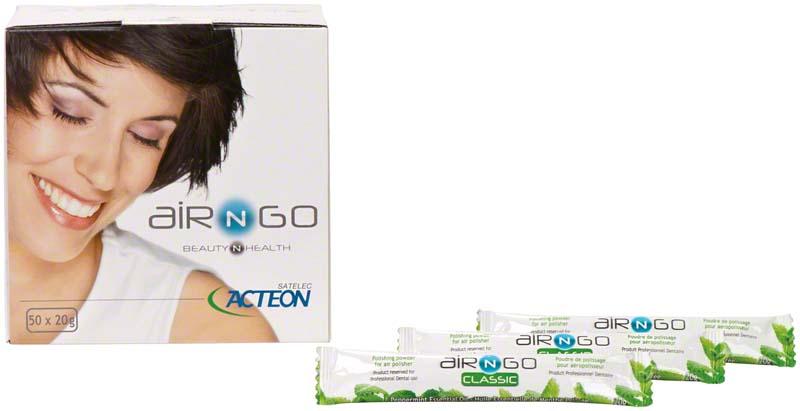 AIR-N-GO   CLASSIC    Packung  50 x 20 g Pfefferminze
