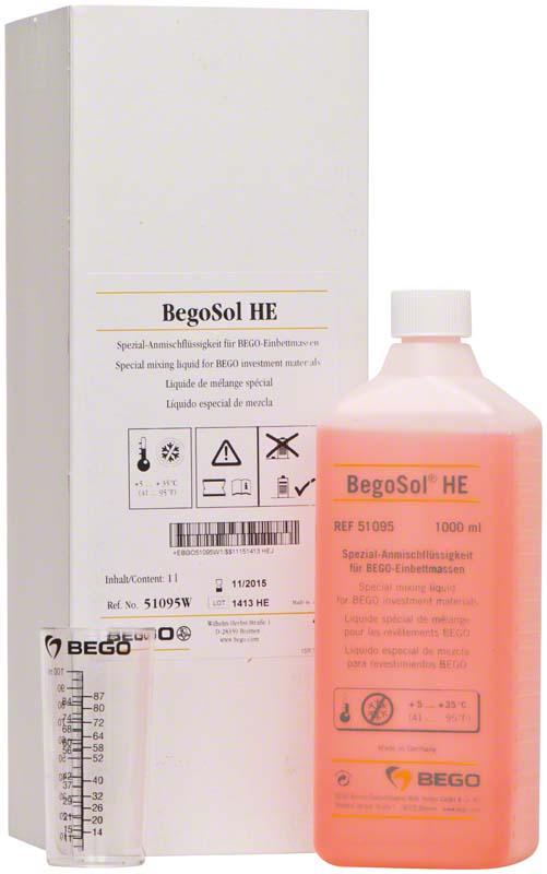 BegoSol® HE  Flasche  1 Liter für den Winter