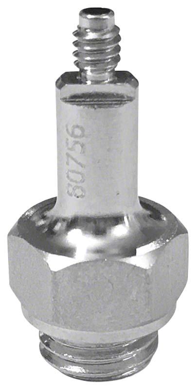 Adapter für Spitzen  Stück  M3 x 0,6 mm, Außengewinde