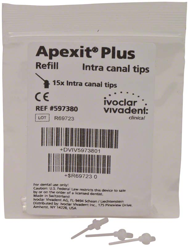 Apexit® Plus Intra Canal Tips  Packung  15 Stück