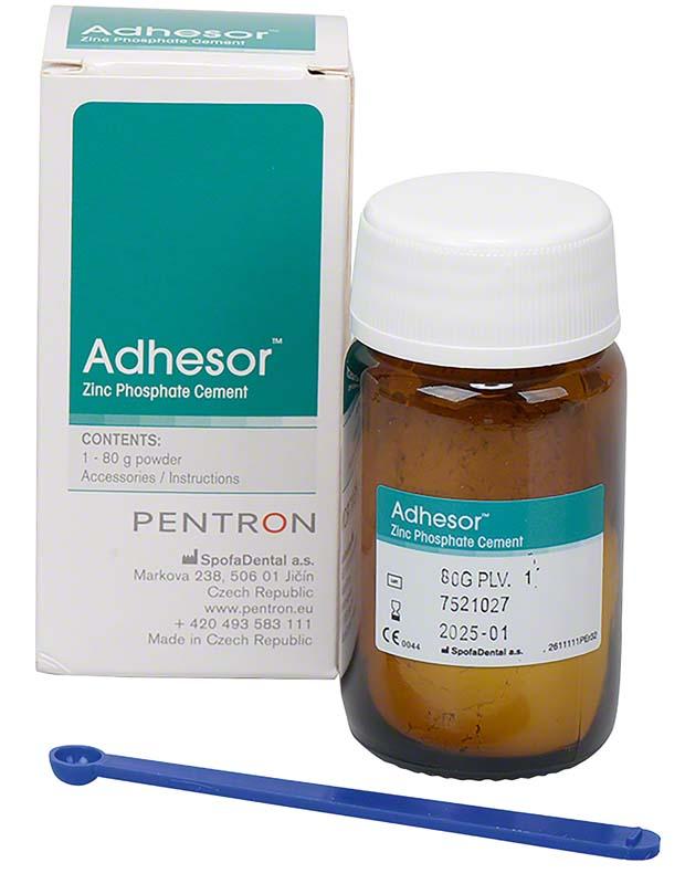 Adhesor  Packung  80 g Pulver shade 1, weiß