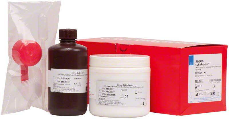 astron® CLEARSPLINT®  Packung  320 g Pulver, 240 ml Flüssigkeit