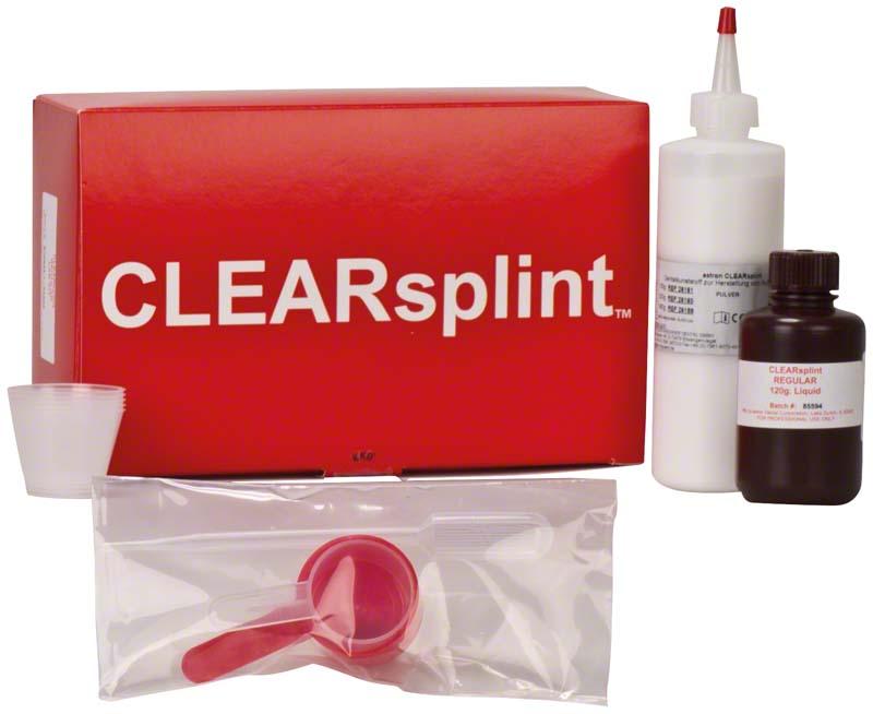 astron® CLEARSPLINT®  Packung  160 g Pulver, 120 ml Flüssigkeit