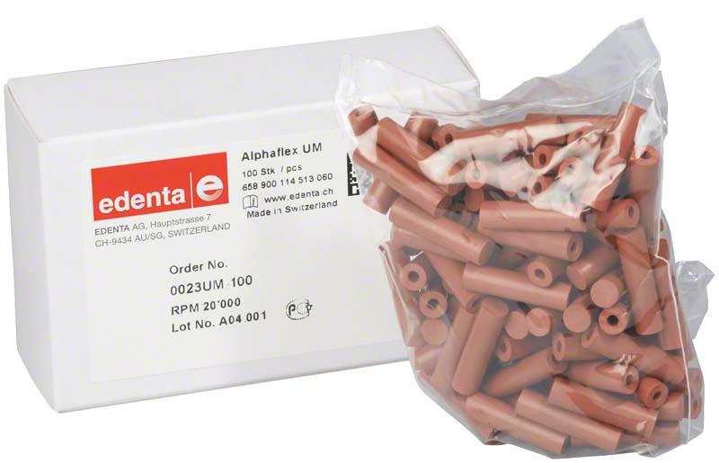 Alphaflex  Packung  100 Stück unmontiert, braun, Figur 114, 22 mm, ISO 060