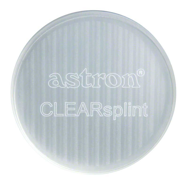 astron® CLEARSPLINT® Disc  Packung  12 Stück, 98 x 20 mm, mit Schulter