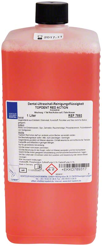 TOPDENT Red Action  Flasche  1 l