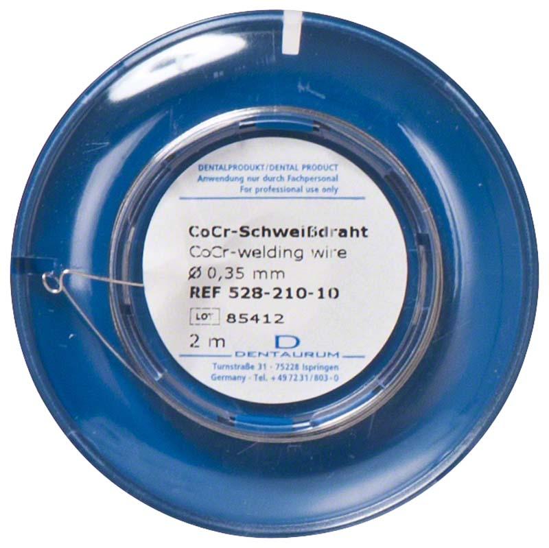 CoCr-Schweißdraht  Rolle  2 m, 0,35 mm