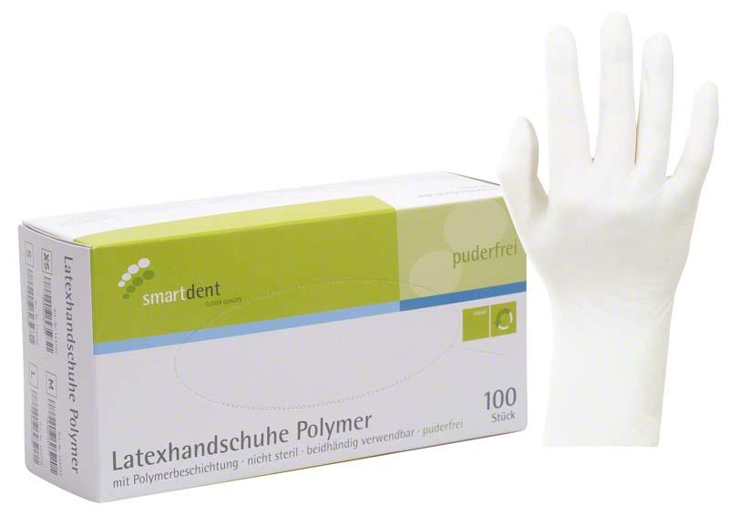 smart Polymer Latexuntersuchungshandschuhe  Packung  100 Stück XS