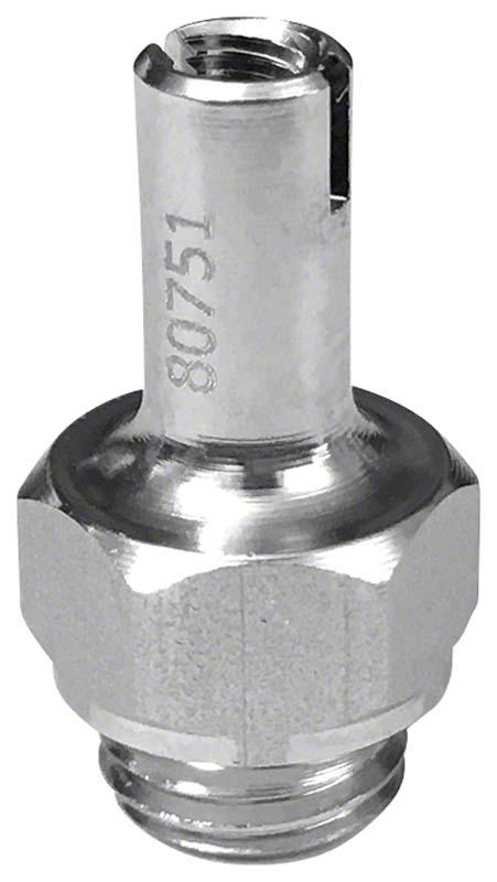 Adapter für Spitzen  Stück  M3,6 x PH1,5 P0,5, Innengewinde