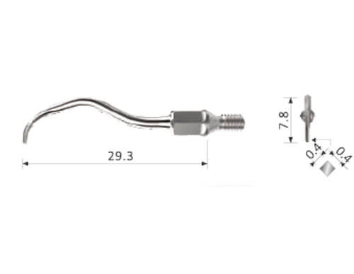 Ultraschall-Spitzen k#5 passend für Kavo AirScaler SonicFlex - universal
