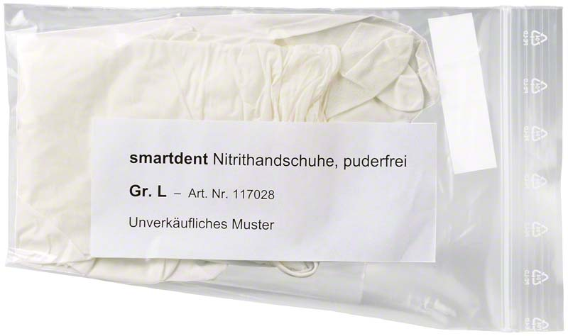 smart Nitrilhandschuhe Soft  Muster  1 Paar L