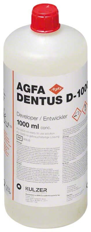 AGFA DENTUS® D-1000  Flasche  1 l