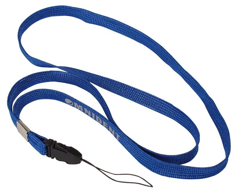 Band für Zahnspangendose  Stück  blau, 48 cm