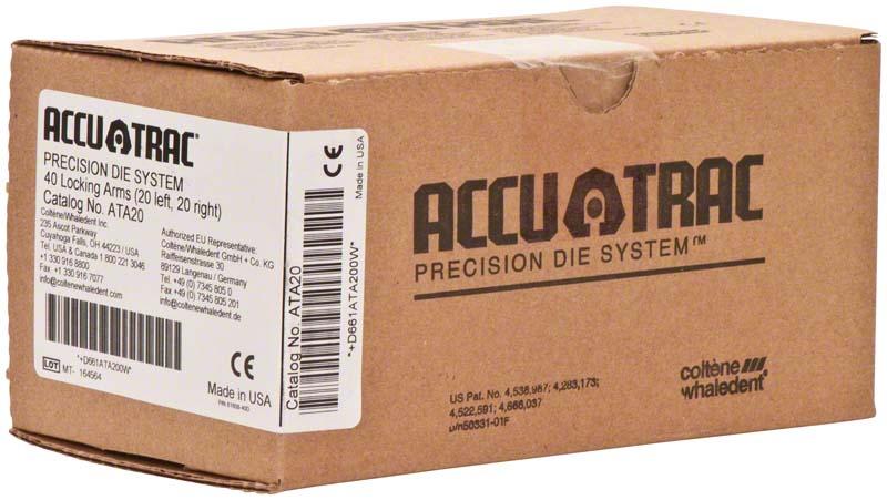 ACCU-TRAC  Packung  40 Verriegelungsarme (20 x +, 20 x -)