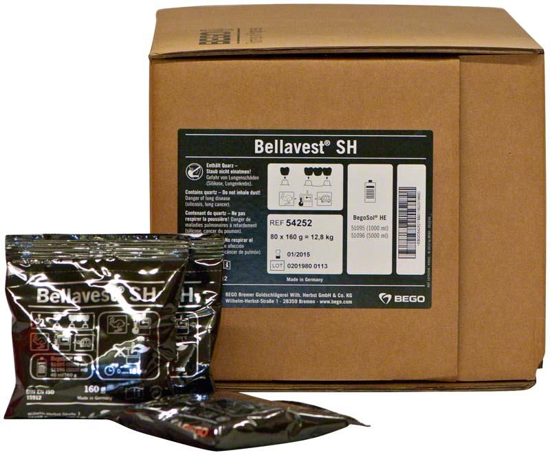 Bellavest® SH  Karton  80 x 160 g Beutel ohne Flüssigkeit