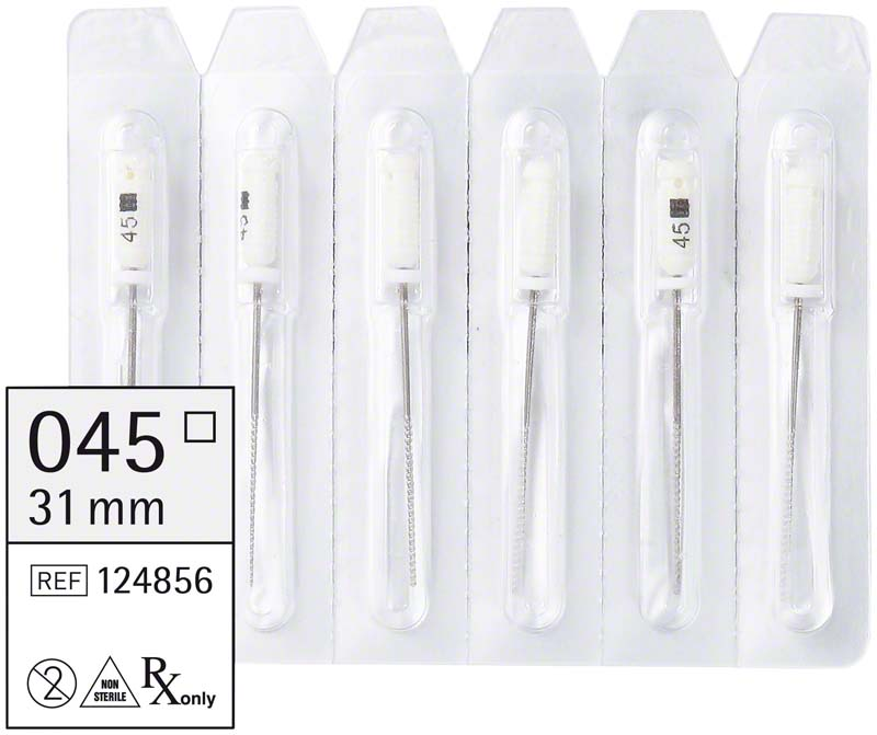 smart K-Feilen  Packung  6 Stück 31 mm ISO 045