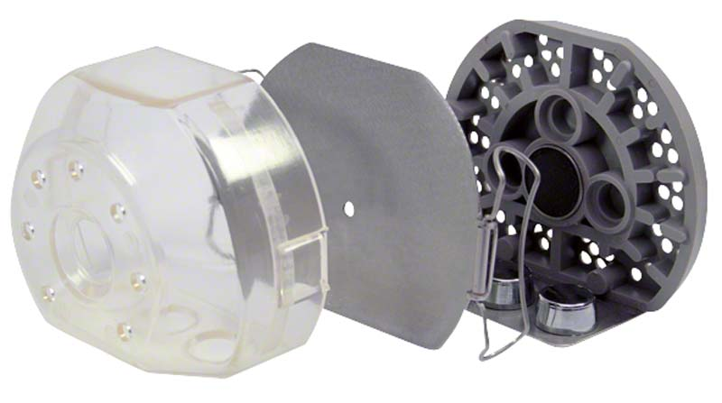 Castdon Küvette  Packung  1 Küvette transparent inklusive Kanalstechröhrchen
