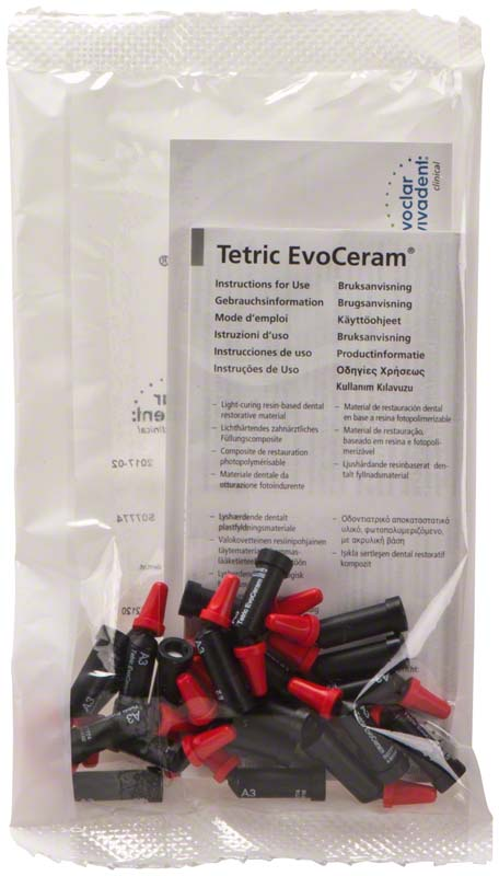 Tetric® EvoCeram  Packung  20 x 0,2 g Cavifil A3