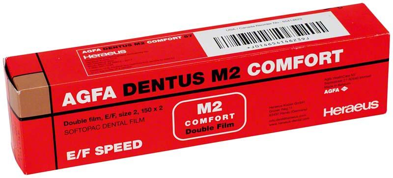 AGFA DENTUS® M2 COMFORT E\F-Film  Packung  150 Doppelfilme 3 x 4 cm