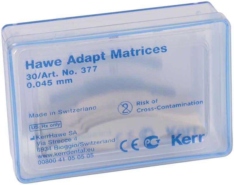 Adapt Matrizen  Nachfüllpackung  30 Stück Stärke 0,045 mm, Form 377