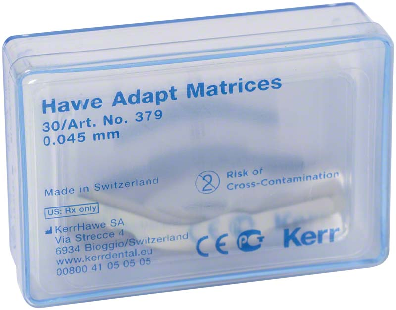 Adapt Matrizen  Nachfüllpackung  30 Stück Stärke 0,045 mm, Form 379