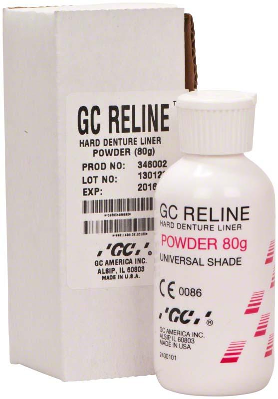 GC RELINE™  Packung  80 g Pulver, Universalfarbe