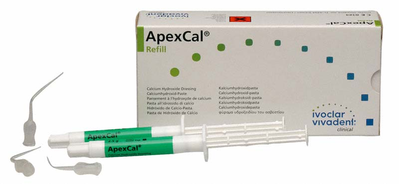 ApexCal®  Packung  2 x 2,5 g Spritze, 15 Applikationskanülen