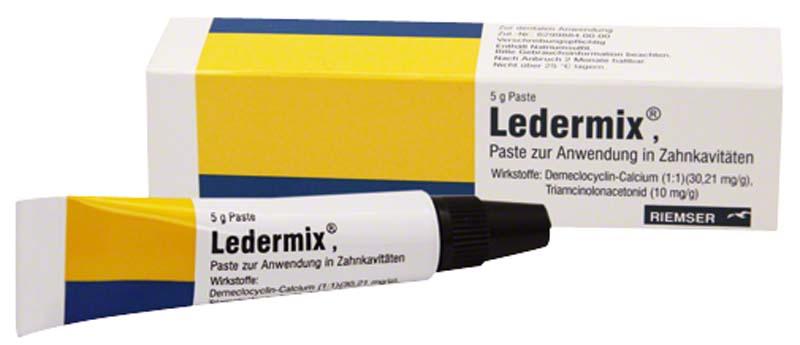 Ledermix®  Tube  5 g Paste