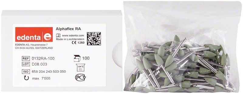 Alphaflex  Packung  100 Stück grün, RA, Figur 243, 6 mm, ISO 050