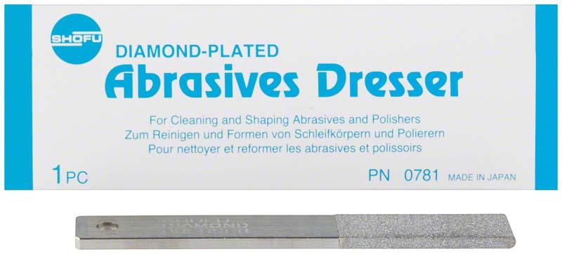 Abrasives Dresser  Stück  100 x 15 x 4 mm