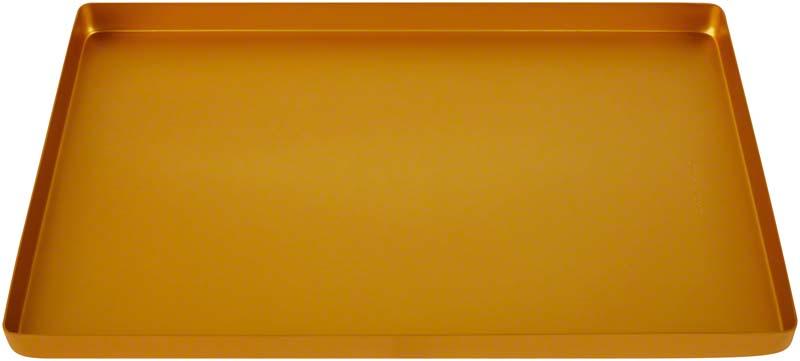 Alu Tray  Stück  gelb, 4160-96