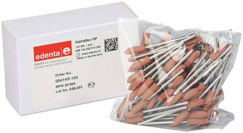 Alphaflex  Packung  100 Stück braun, HP, Figur 292, 16 mm, ISO 050