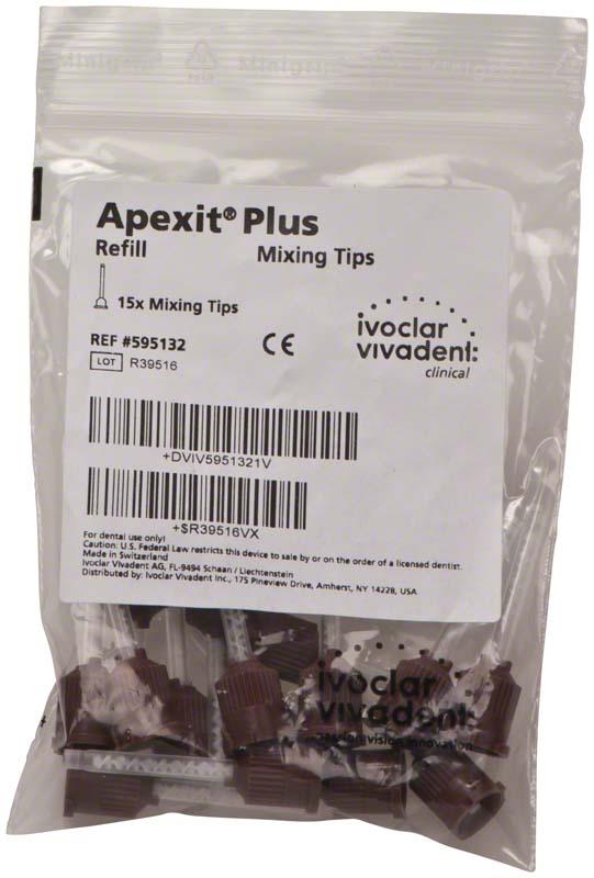Apexit® Plus Mischkanülen  Packung  15 Stück