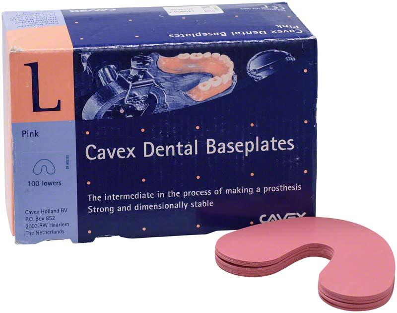 Cavex Basisplatten  Packung  100 Stück UK