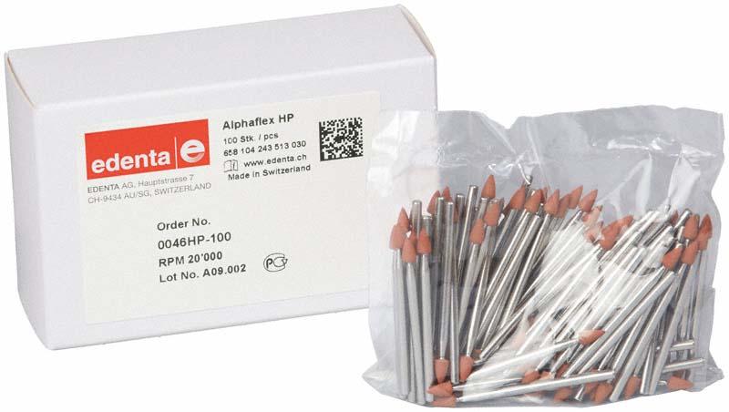 Alphaflex  Packung  100 Stück braun, HP, Figur 243, 6 mm, ISO 030