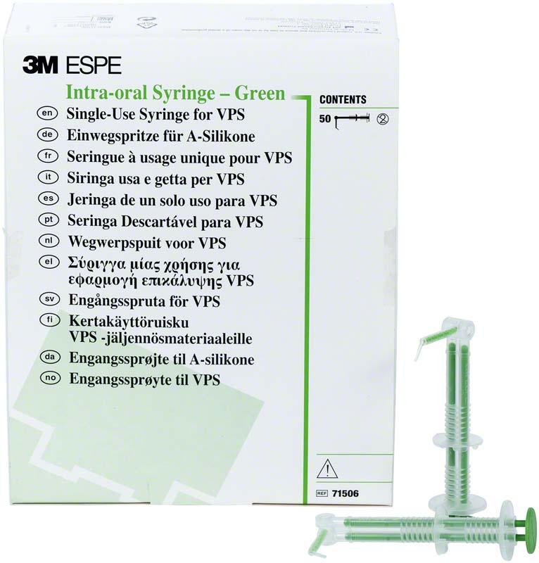 3M Intra-oral Spritzen  Valuepackung  50 Stück grün