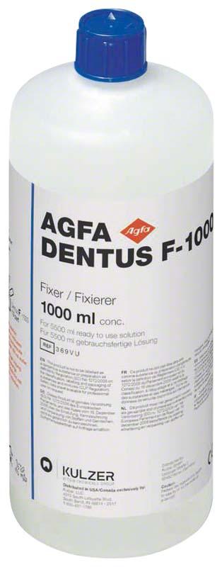 AGFA DENTUS® F-1000  Flasche  1 l