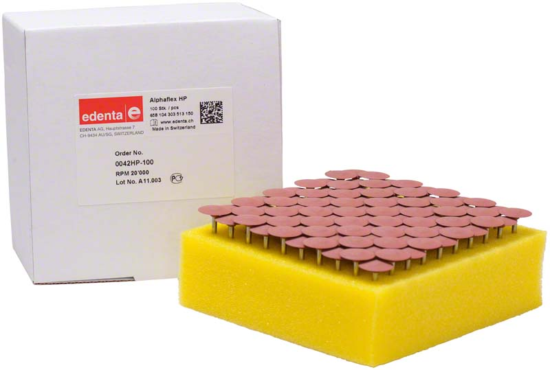 Alphaflex  Packung  100 Stück braun, HP, Figur 303, 2,5 mm, ISO 150